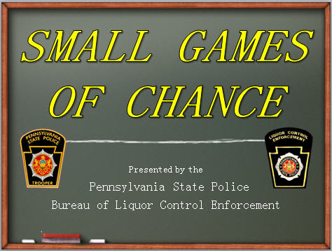 small games of chance graphic